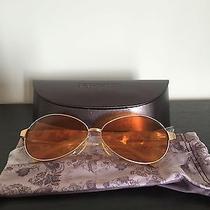 Oliver Peoples Sunset 1990's Aviator Sunglasses(fight Club Sunglasses) Photo