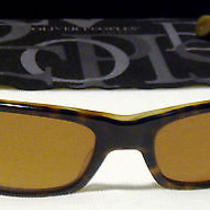 Oliver Peoples Vfx Polarized Sunglasses Primo. 100% Authentic Photo
