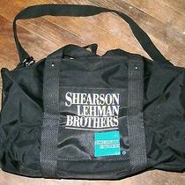 Olympic Weekender (Black) With Logo Shearson Lehman Brothers American Express Photo