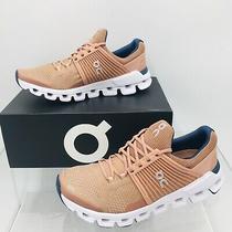On Cloud Cloudswift Blush / Denim Women's Running Shoes Size 8.5 B Medium Photo