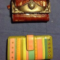 One Fossil Check Wallet and Other Wallet Photo