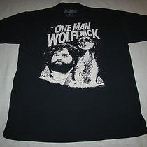 One Man Wolfpack T Shirt by Ripple Junction Size L the Hangover Photo