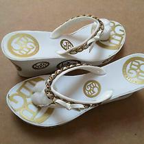 One New Bcbg Generation Sandal (White or Black) Sz. 10 Photo