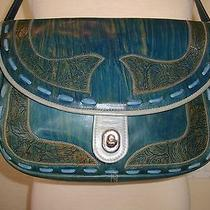 One of a Kind Hand Painted Vintage Handbag by Vst Very Special Things Photo