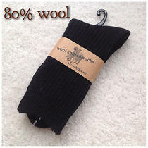 One Pair Men's Lambs Wool Socks for Autumn or Winter 40% Off Photo