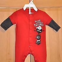 One Piece Sleeper Pajamas Body Suit Size 3 Mos by Circo Photo