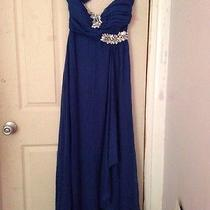 One Shoulder Prom Gown by Ruby Rox  Photo