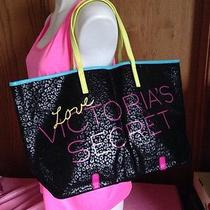 One Victoria's Secret Tote Beach Shopper Duffle Carryon Book Computer Fantasy Photo