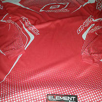 Oneal Mens Nwt Element Jersey Motorcross Long Sleeve Red White Xlarge Xl Xgames Photo
