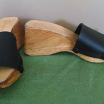 Onesole Shoes - Natural Softstep Wood - Size 7 Photo