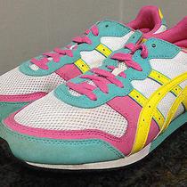 Onitsuka Tiger Asics Women's 9 Hn8b5 Retro Multi-Color Pink Running Shoes 102 Photo