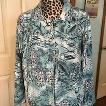 Onque Elements of Style Jacket 3 Button Front Size Xl Photo