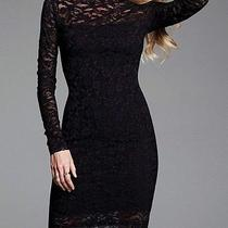 Open-Back Lace Dress Photo