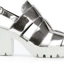 Opening Ceremony Grunge Fisherman Sandals Silver - Size 38 Photo