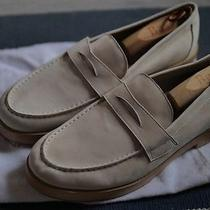 Opening Ceremony Luc Wood Sole Loafer Shoe. Leather Size 12 Solid Cream Kenzo Photo