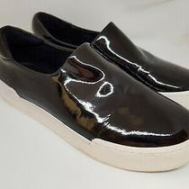 Opening Ceremony Women's Shoes Rrp 285 Sneakers Black Patent Leather Didi Sz 37 Photo