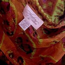 Oprahs Favorite Things Julia Roberts Theodora & Callum Orange Scarf 175 Photo