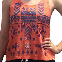 Orange Aztec Muscle Tank Photo