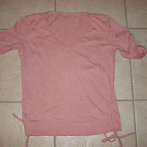 Orange Dkny Womens T-Shirt Size Small Photo