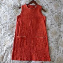 Orange Fossil Vintage Inspired Dress Size S Photo