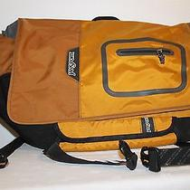 Orange Jansport Messenger Laptop Bag Photo
