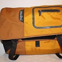 Orange Jansport Messenger Laptop Bag Photo