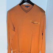 Orange John Varvatos Wool Sweater (Xl) Photo