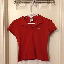Orange Lacoste Polo-Small Photo