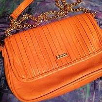 Orange Leather Handbag by gorjana.com Photo