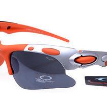 Orange Oakley Sunglasses Photo