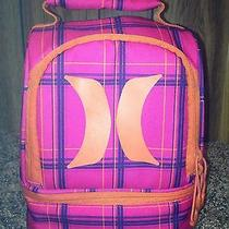Orange / Pink Hurley Lunch Bag Photo