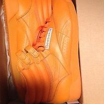 Orange Reebok Hi-Tops Photo