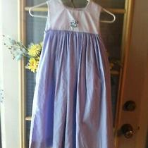 Orient Express Sz 7 Purple Gingham Dress Photo