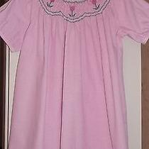 Orient Expressed Pink Tulip Smocked Bishop Dress  3 Spring Summer Photo