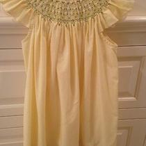 Orient Expressed Smocked Dress Yellow Size 1 Daisy 12 Months Photo