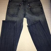 Orig. Rock Republic Women's Med Wash Denim Jeans Stud Pockets Straight Sz 30 Photo