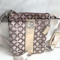 Original Coach Cross-Body Purse Photo