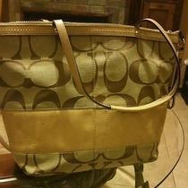 Original Coach Handbag Photo