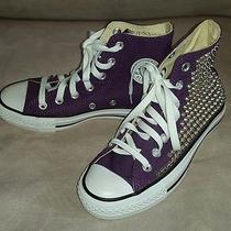 Original Converse All Star Custom Chuck Taylor Spike Studded Sneakers Photo