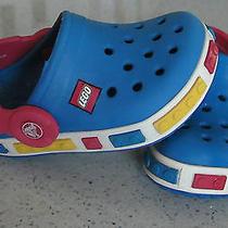 Original Crocs Lego Blue Size 4-5 Photo