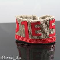 Original. Diesel Bracelet Diesel C5t8 Cufftack Bracelet Bracelet Used New Photo