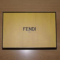 Original Fendi Box for Women's Shoes. Photo