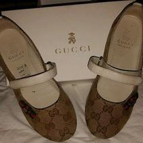 Original Gucci Canvas Ballet Flat  Photo