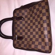 Original  Louis Vouitton Handbag Mint Damier Ebene Brera Tote  Original Photo