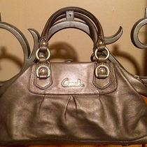 Original Metallic Gold Coach Bag Photo