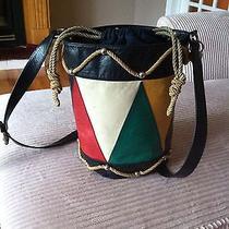 Original Moschino Leather Handbag