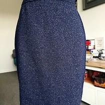 Original Vintage Escada Woman Girl Blue Skirt by Margaretha Ley  Size 36 New Uk  Photo