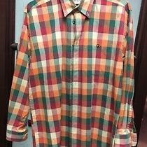 Orvis Men's Long Sleeve Button Down Shirt Multi Color Plaid Size M -Excellent  Photo
