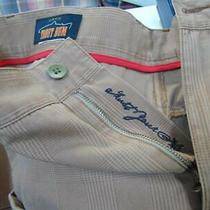 Orvis Trout Bum New Shorts 34 X 9 Brown Plaid Nwt Photo