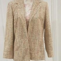 Orvis Womens 100% Silk Size 10 Jacket Excellent Condition  Photo